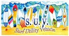 S.U.V. Beach Towel | By DomesticBin