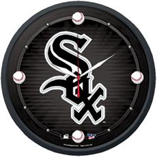 "Chicago White Sox 12.75"" Round Clock 