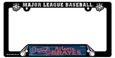 Atlanta Braves License Plate Frame | By DomesticBin
