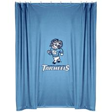 North Carolina Tar Heels Shower Curtain | By DomesticBin