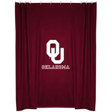 Oklahoma Sooners Shower Curtain | By DomesticBin