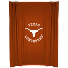 Texas Longhorns Shower Curtain | By DomesticBin