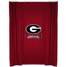 Georgia Bulldogs Shower Curtain | By DomesticBin