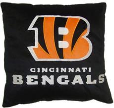 "Cincinnati BENGALS 16"" Plush Pillow | By DomesticBin"
