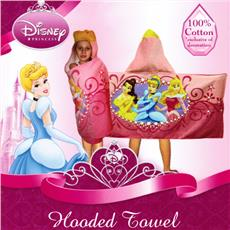 PRINCESS Hooded Towel | By DomesticBin