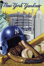 New York Yankees Tapestry Throw | By DomesticBin