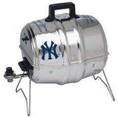 New York Yankees Charcoal Keg-A-Que Grill | By DomesticBin