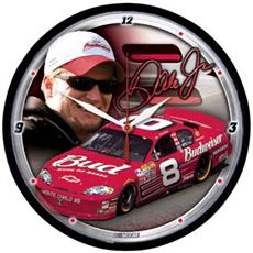 "Dale Earnhardt Jr 12.75"" Round Clock 