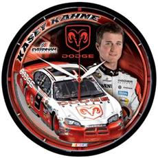 "Kasey Kahne 12.75"" Round Clock 