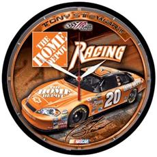 "Tony Stewart 12.75"" Round Clock 