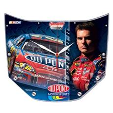 Jeff Gordon High Def. Plaque Clock | By DomesticBin