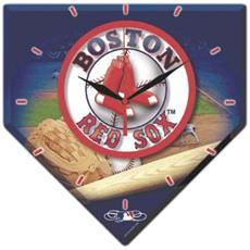 Boston Red Sox High Def. Plaque Clock | By DomesticBin