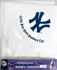 New York Yankees Hooded Baby Towel | By DomesticBin