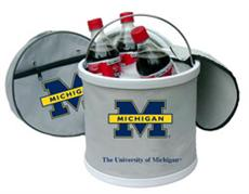 Michigan Wolverines Icebucket/Cooler | By DomesticBin