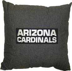 "ARIZONA CARDINALS 18"" Denim Pillow 