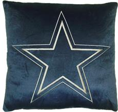 "DALLAS COWBOYS 16"" Plush Pillow 