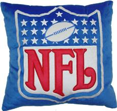 "NFL Shield 16"" Plush Pillow 