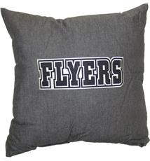 "PHILADELPHIA FLYERS 18"" Denim Pillow 