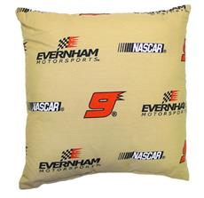 "Kasey Kahne #9 Tan 17"" Pillow 