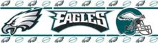 PHILADELPHIA EAGLES Wall Border | By DomesticBin