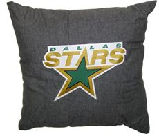 "DALLAS STARS 18"" Denim Square Pillow 