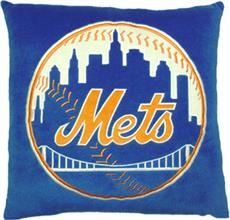 "NEW YORK METS 16""' Plush Pillow 