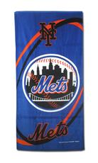 New York Mets Fiber Reactive Beach Towel | By DomesticBin