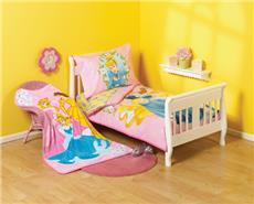 Princess GARDEN OF DREAMS 4 pc Toddler Bedding  Set | By DomesticBin