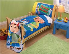 HANDY MANNY  PLANNING PALS 4 pc Toddler Bedding Set | By DomesticBin
