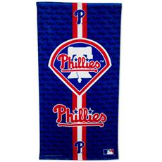 Philadelphia Phillies Fiber Reactive Beach Towel | By DomesticBin