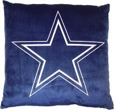 "NFL Dallas Cowboys 27"" Euro Pillow | By DomesticBin"