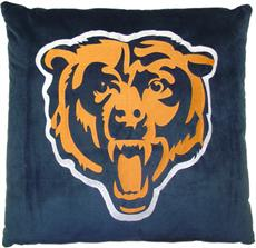 "NFL Chicago Bears 27"" Euro Pillow 