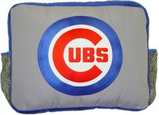 MLB Authentic CHICAGO CUBS Circular Logo Pillow | By DomesticBin