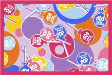 Tootsie Roll Pop Fun Rug | By DomesticBin