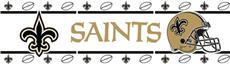NEW ORLEANS SAINTS Wall Border | By DomesticBin