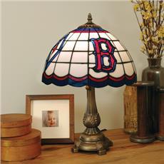 Boston Red Sox Tiffany Table Lamp