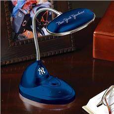 New York Yankees Led Light Desk Lamp   By DomesticBin