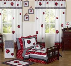 Little Ladybug 5 pc Toddler Bedding Ensemble | By DomesticBin