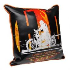 Harley Davidson Rider Square Pillow | By DomesticBin