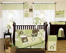 Leap Frog 9pc Crib Bedding Set | By DomesticBin