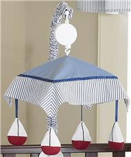 Come Sail Away Musical Crib Mobile | By DomesticBin