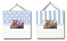 BLUE & WHITE Frame Set | By DomesticBin