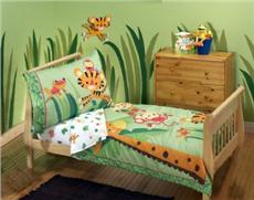 Rainforest 4-PC Toddler Bedding Set by Fisher-Price® | By DomesticBin