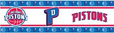 Detroit Pistons Wall Border | By DomesticBin