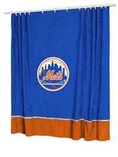 New York Mets MVP Shower Curtain | By DomesticBin