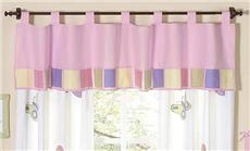 Butterfly Pink & Lavender Valance | By DomesticBin