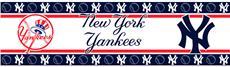 New York Yankees Peel & Stick Wall Border | By DomesticBin