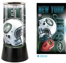 New York Jets Rotating Lamp | By DomesticBin