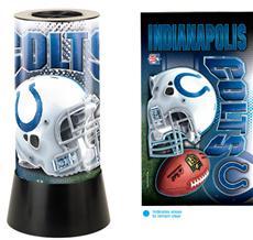 Indianapolis Colts Rotating Lamp | By DomesticBin
