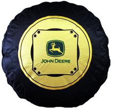 John Deere Traditional TRACTOR TIRE Decorative Pillow | By DomesticBin